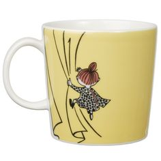 Arabia Finland Moomin Mug - Little My: