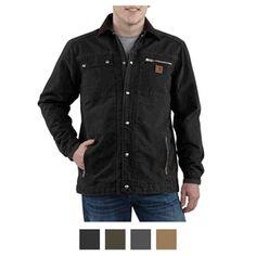Carhartt Mens Sandstone Multi Pocket Jacket - Quilt Lined - Reduced Price
