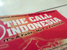 The call indonesia