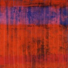 Gerhard Richter Wand (Wall) 1994 240 cm x 240 cm Oil on canvas Contemporary Abstract Art, Abstract Landscape, Modern Art, New European Painting, Gerhard Richter Painting, Inspiration Art, Art Moderne, Watercolor Artists, Original Paintings