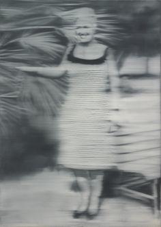 Gerhard Richter 'Mrs Niepenberg' (1965). Oil on canvas