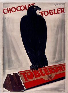 """Leonetto Cappiello, """"Chocolat Tobler Toblerone"""", 1932"""