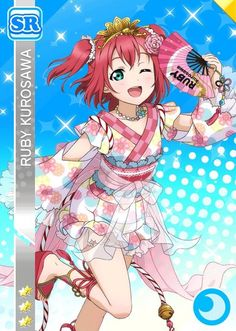 The Ultimate Resource For LoveLive! School Idol Festival players Browse & track your cards. Cute Girls, Cool Girl, Samurai, Chibi, Ruby Kurosawa, Festival Games, Love Live, Cosplay, Childhood Friends
