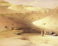 David Roberts - The Valley Of The Kings
