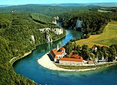 WELTENBURG ABBEY BREWERY- the World's Second Oldest Brewery dating back to 1050, in Kelheim on the river Danube, Germany