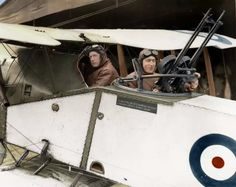Major Syd Addison and Lieutenant Hudson Fysh, of No.1 Squadron, Australian Flying Corps, in a Bristol F2B Fighter aircraft at Mejdel, Palestine campaign as a lieutenant in the Australian Light Horse Brigade, before becoming an observer and gunner in the Australian Flying Corp. He was awarded a Distinguished Flying Cross after the war for his services to aerial warfare. In November 1920, he co-founded the Queensland And Northern Territory Aerial Services Limited - QANTAS - which continues…
