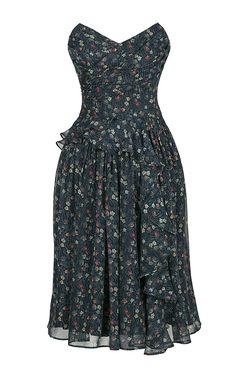 Lena Hoschek | Blue Van Gogh Inspiration Dress