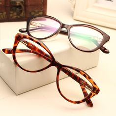 fa60af69d13a Christmas Cat eye Vintage glasses frames Myopia Optical glasses women  fashion clear lens ouclos Brand High quality gafas n548-in Eyewear Frames  from Women s ...