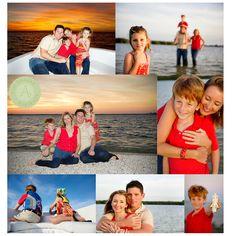 Cute family beach Pic's