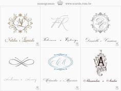 monograms romantico - Pesquisa Google