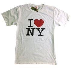 I Love NY New York Short Sleeve Screen Print Heart T-Shirt White, http://www.amazon.com/dp/B00846NEBY/ref=cm_sw_r_pi_awdm_z0.Yub0Z2A1P7