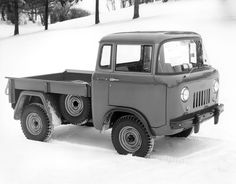 1956 Willys Jeep FC-150 Pickup.. I have always wanted one, since the first time I remember seeing one, about 1958.