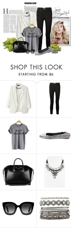 """Priscila Fernandes"" by priscilafernandessantos on Polyvore featuring moda, Current/Elliott, Alice + Olivia, Givenchy, Topshop, Gucci e Charlotte Russe"