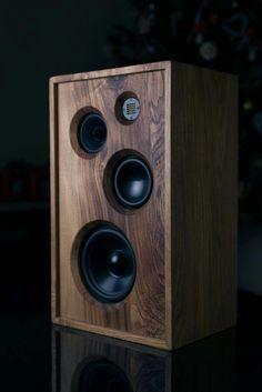 Wooden Speakers, Diy Speakers, Stereo Speakers, Bluetooth Speakers, Speaker Plans, Speaker System, Audio System, Audiophile Speakers, Hifi Audio