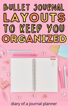 The best bullet journal layouts and spreads to keep your organized! #bulletjournallayouts #Bujo #bulletjournalideas Bullet Journal Hacks, Bullet Journal Printables, Bullet Journal Spread, Bullet Journal Layout, Bujo Weekly Spread, Journal Organization, Journal Writing Prompts, Getting Organized, You Changed