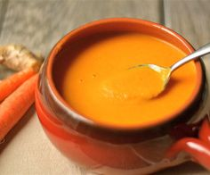 Creamy Carrot and Ginger Soup (Dairy-Free)