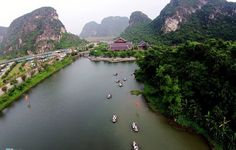 Trang An is the world's cultural heritage first mixture of Vietnam