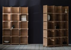 Post office shelving, by Pinch Design