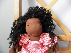 Waldorf doll  Emma  17 by LeluszkaWaldorfDoll on Etsy