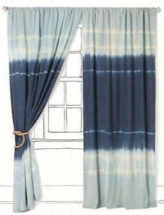 Love It or Hate It? Anthropologie Ocean Swell Curtain | POPSUGAR Home