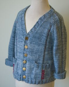 Free Knitting Pattern - Toddler & Children's Clothes: Haberdashery Jacket