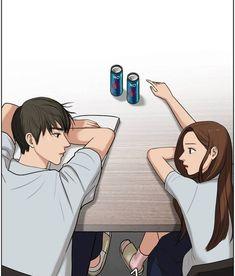 So sweet 😙😙😙 Nam 9 ; Cute Couple Art, Anime Love Couple, Anime Couples, Cute Couples, Cute Anime Coupes, Online Comics, Cute Cartoon Drawings, Cute Love Cartoons, Webtoon Comics