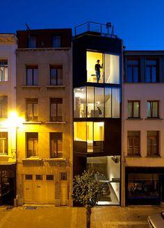 By CSD Architecten - House Built  in Center of Antwerp