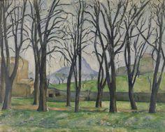 Paul Cezanne, Chestnut Trees at Jes de Bouffan, 1885-6 (The Minneapolis Institute of the Arts)