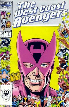 Calvin's Canadian Cave of Coolness: Comic Covers Of The Day - Marvel - 25th Anniversary