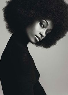 entry from Junctioned How can you not love an afro?How can you not love an afro? Big Hair, Your Hair, Yaya Dacosta, Curly Hair Styles, Natural Hair Styles, Natural Beauty, Natural Oils, Twisted Hair, Foto Portrait