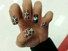 OVO nails..the ring finger is my favorite
