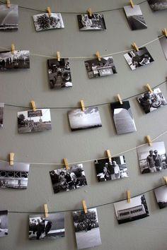 Beautiful Polaroid Photos Display Idea (103)
