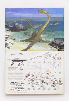 """David Wojnarowicz, """"Calendar"""" (1989), Offset Printing, 25 x 17 inches, from the David Wojnarowicz Papers, Fales Library and Special Collections, New York University"""