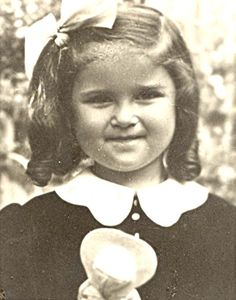 Helga Berner was sadly murdered in Auschwitz in 1944 at age 9.