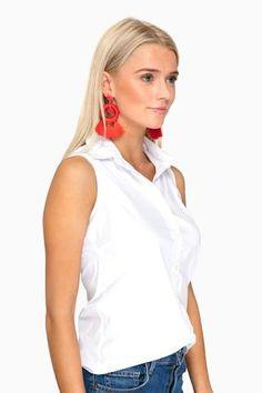 Sleeveless Icon Shirt