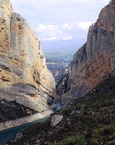 Congost de Mont-rebei, al Pallars Jussà (Catalunya - Catalonia)