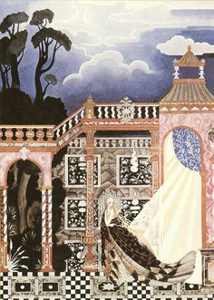 Kay Nielsen - Illustrations for Grimm's Fairy Tales: Catskin, or Allerleirauh