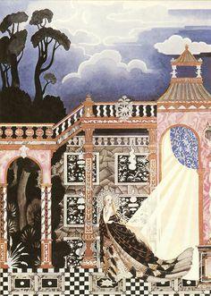 Kay Nielsen - Illustrations for Grimm's Fairy Tales: Catskin, or Allerleirauh