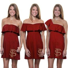 WHAT THIS IS ADORABLE!! FSU DRESS CONVERTABLE