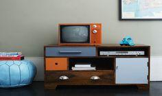 ... Marta Sánchez · Bricolaje · muebles reciclados · muebles televisor