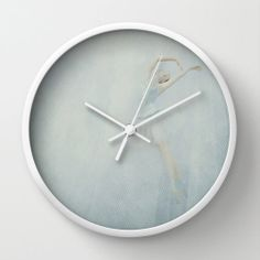 Snow Fairy Wall Clock Ballet Photo Wall Clock by whimsycanvas, $50.00