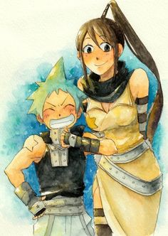 Tsubaki and Black Star | Soul Eater
