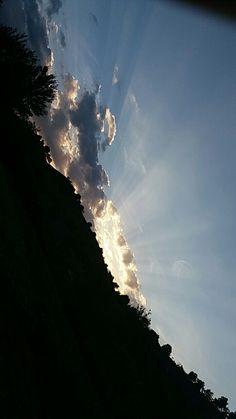 Sky falling apart #sunset#havenrevel