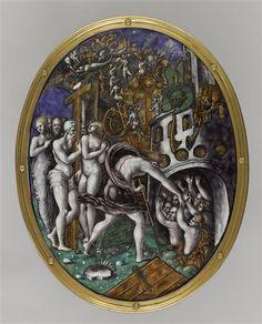 Les maux peints de limoges extirpation de l 39 enfer for Miroir des limbes