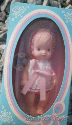 Panenky IGRA v původním balení - 1 Retro 2, Retro Vintage, Tiny Dolls, Doll Furniture, Vintage Dolls, Childhood, Toys, Nostalgia, Puppets