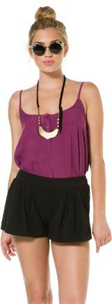 Swell Presley Pleated shorts http://www.swell.com/Womens-Shorts-Rompers/SWELL-PRESLEY-PLEATED-SHORT?cs=BL @SWELL
