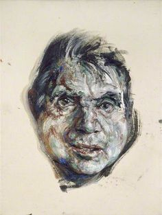 Francis Bacon by Maggi Hambling Date painted: 1985 Oil on canvas, 38 x cm Lucian Freud, Figure Painting, Painting & Drawing, Drawing Heads, Life Drawing, Francis Bacon Self Portrait, Maggi Hambling, Art Fund, Irish Art