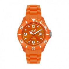 Ice-Watch Orange Silicone Watch with Orange Dial