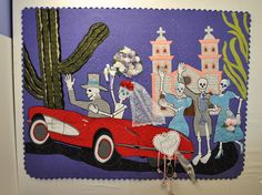 JUST MARRIED DE LOS MUERTOS by Nancy Arseneault is the most recent in the series...made in 2012