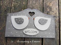Il country e il mare: hearts and birds